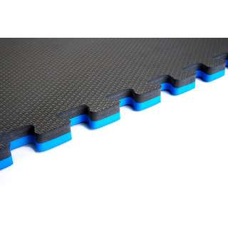Recyclamat Sport Multi Purpose Foam Flooring, Blue/Gray