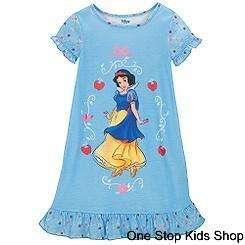 SNOW WHITE Disney Princess Girls 2T 3T 4T 5T 4 5 6 7 8 10 Pajamas