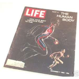 LIFE Magazine   December 7, 1962   The Human Body in Diagram and Boy