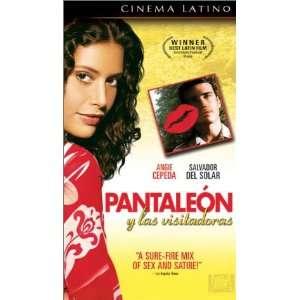 : Pantaleon Y Las Visitadoras [VHS]: Salvador del Solar, Angie Cepeda