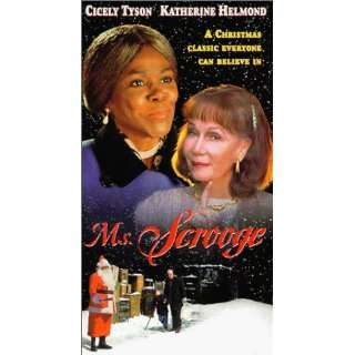 Ms Scrooge [VHS] Cicely Tyson, Katherine Helmond, Michael