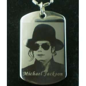 Michael Jackson RIP dog tag pendant necklace dog tag#2