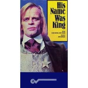His Name Was King [VHS] Richard Harrison, Klaus Kinski