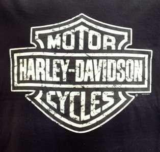 Harley Davidson Las Vegas Dealer Muscle Tee T Shirt Sleeveless Black