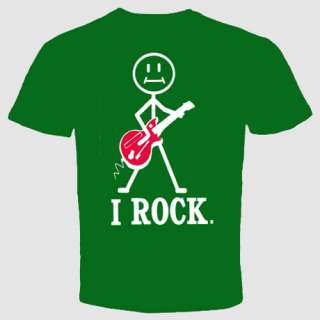 Rock Vintage Heavy Metal T shirt Music Punk rock Guitar Funny Cool