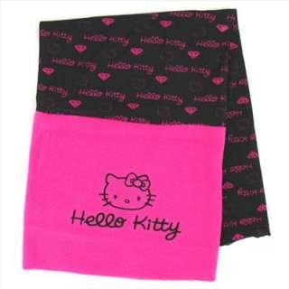 Hello Kitty Soft Bike Hiking Bandana Head Scarf Black
