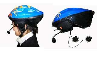 MOTORCYCLE HELMET BLUETOOTH HEADSET INTERCOM FM RADIO 2 WAY HAND FREE