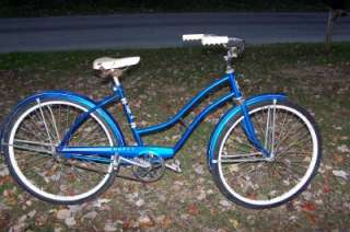 VINTAGE/ANTIQUE BLUE~HUFFY~ BICYCLE/BIKE 26 INCH
