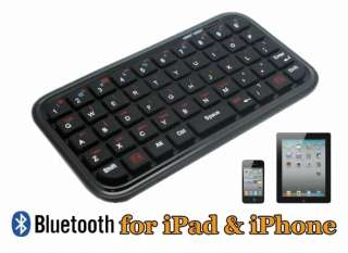 Bluetooth Keyboard for iPad I II iPhone iPod touch Cell Phone