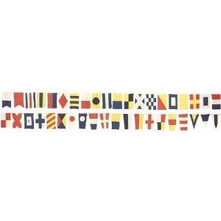 Wallies 12212 Nautical Flags Wallpaper Cutout: Explore similar items
