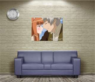S1255 Anime Spice And Wolf Lawrence Horo Kiss POSTER