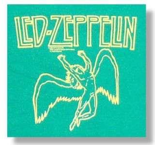 LED ZEPPELIN Hard Rock ARCHANGEL SWAN SONG Baby Toddler ONESIE