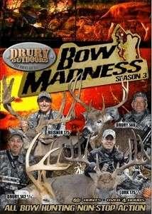 TV Season 3 ~ Deer Wild Hogs Turkey++ Hunting DVD Drury Outdoors