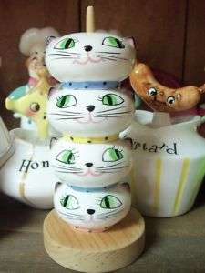 VTG HOLT HOWARD COZY KITTEN SALT PEPPER SPICE SHAKER
