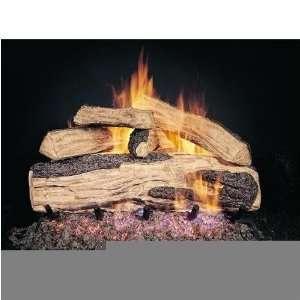 Peterson Gas Logs 18 Inch Ripped Split Oak Vented Propane Gas Log Set
