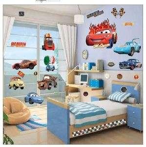 Disney Pixar Cars Peel & Stick Wall Decal   Easy Wall Sticker Decal