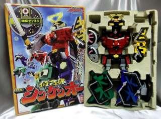 Power Rangers SAMURAI SENTAI SHINKENGER SHINKENOH Megazord BANDAI