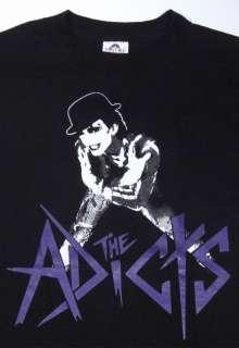 The ADICTS ADX Mens T shirt Punk Rock Band Tee New Sz2XL XXL Black