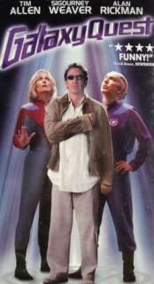 NEW Science Fiction Comedy Galaxy Quest (VHS) 667068575231