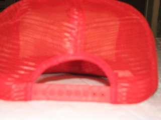 HARLEY DAVIDSON RARE VINTAGE RUSSIAN HAT CAP RED NEW