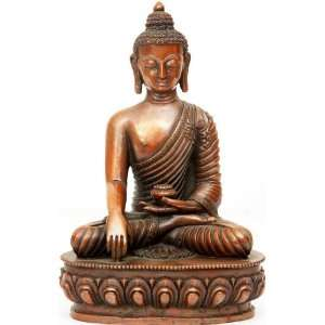 com Buddha in Absolute Buddhahood   Copper Sculpture Home & Kitchen