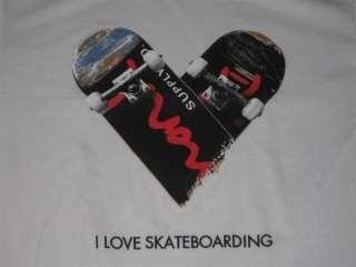 Diamond Supply Co Love Skateboarding Shirt L Currency