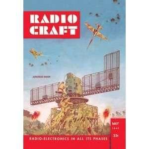 Radio Craft: Japanese Radar   Paper Poster (18.75 x 28.5