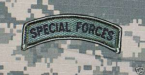 Special Forces SF Tab Patch for US Army ACU Uniforms