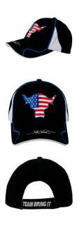 The Rock Team Bring It USA WWE Baseball Cap Hat New