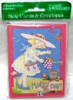 MARY ENGELBREIT HAPPY DAY #10 BLANK NOTE CARDS NEW