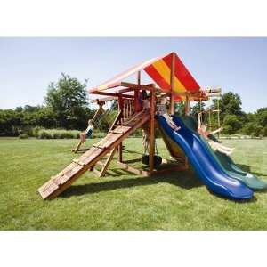 Redwood Big Top Swing Set Toys & Games
