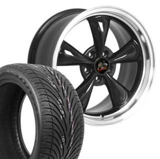 18 9/10 Black Bullitt Wheels Nexen Tires Rims Fit Mustang® 94 04
