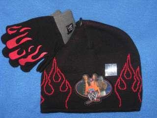 WWE EDGE REY MYSTERIO TRIPLE H bEaNiE hat CAP gloves**