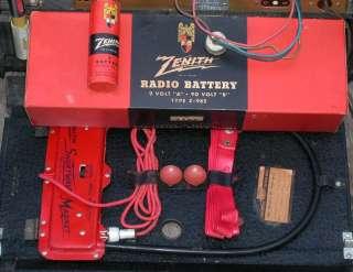 Vintage c1948 Zenith Transoceanic 6 Band Shortwave Tube Radio