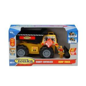 Tonka Mighty Motorized Dump Truck with Figure Toys & Games