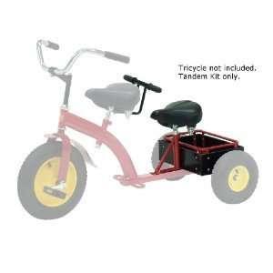 Morgan Cycle Pickup Crewcab Trike Kit Red Electronics